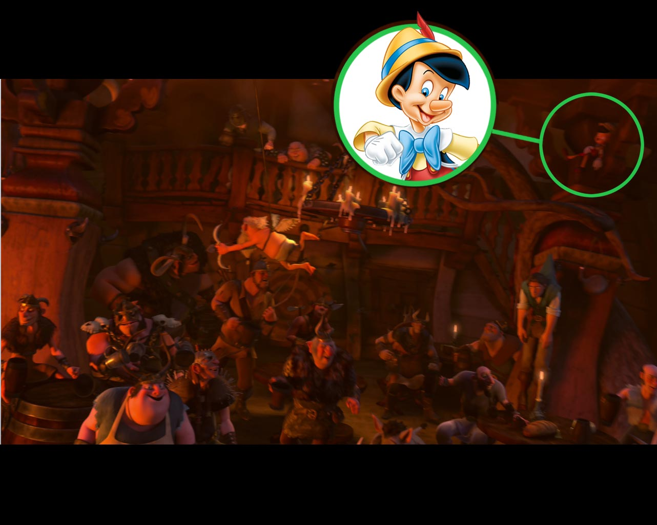disney hidden things in disney movies on pinterest