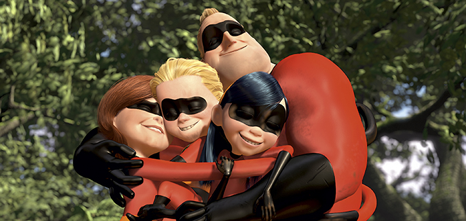 Pixar Love - The Incredibles
