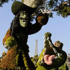 Epcot International Flower & Garden Festival in Walt Disney World