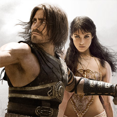 "Jake Gyllenhaal and Gemma Arterton star as Dastan and Princess Tamina in Disney's ""Prince of Persia: The Sands of Time"" – In Theaters May 28."
