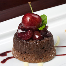 One of the many delicious creations found at Napa Rose.