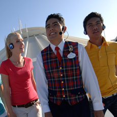 Students can get valuable experience through the various internship programs offered by Disney.