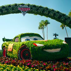 The 18th Annual Epcot International Flower & Garden Festival at Walt Disney World.