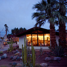 One of the cottages at Smoke Tree Ranch in Palm Springs, California.