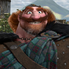 "King Fergus of Disney·Pixar's ""Brave""."