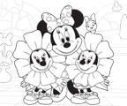 Minnie 39 s bow toons disney junior for Minnie mouse bowtique coloring pages