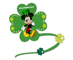 Mickey's Shamrock Day Banner