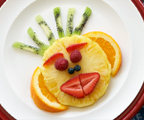 Zephir's Monkey Face Fruit Plate