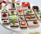 Princess Tea Party Tea Sandwiches