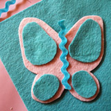 Bambi's Butterfly Bobby Pins - Step 4