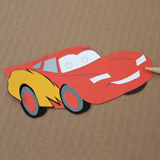 Lightning McQueen Car Air Freshener Step 5