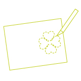 Mickey's Shamrock Day Invitations - Step 3