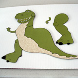 Rex Placemat Step 6