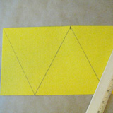 <i>Toy Story</i> Party Pennant Step 1
