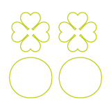 Mickey's Shamrock Day Confetti- Step 2
