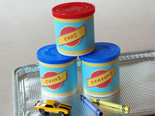 Flo's Oil Can Party Favors