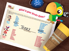 Jake's Pirate Activity Book