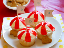 Dumbo's Big Top Cupcakes