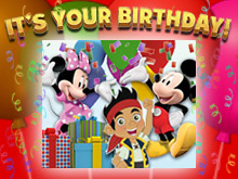 The favorite Disney Junior friends can't wait to wish your child a Happy Birthday!