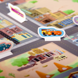 Cars Radiator Springs Playset