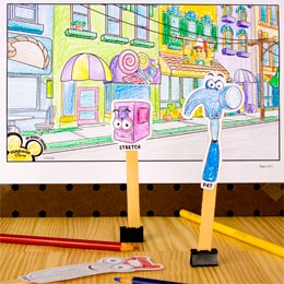 Color-In Handy Manny Puppet Show