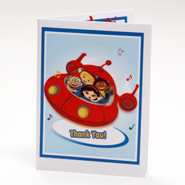 Little Einsteins Birthday Party Thank-You Notes