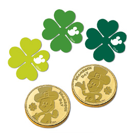 Mickey's Shamrock Day Confetti
