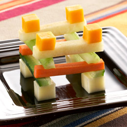Dusty's Building Block Snack