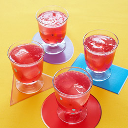 Nina's Fizzy Pink Lemonade