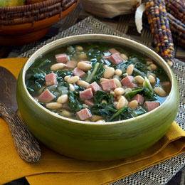 Bean Soup with Greens