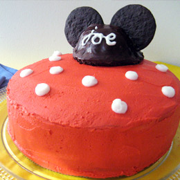 Mickey's All-Ears Cake