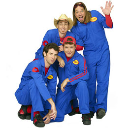 Imagination Movers on Tour