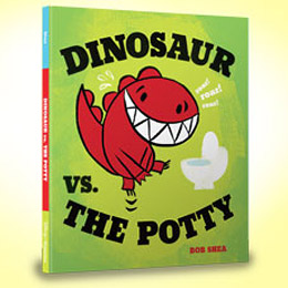 Dinosaur Vs the Potty