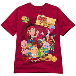 Red Jake and the Never Land Pirates Tee