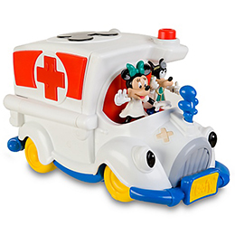 Mickey Mouse Clubhouse Ambulance Play Set