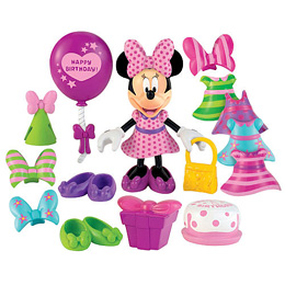Minnie Bow-Tique Doll - Birthday