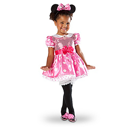 Infant and Toddlers Minnie Mouse Costume