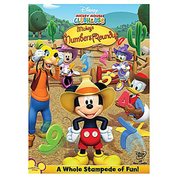 Mickey's Numbers Roundup DVD