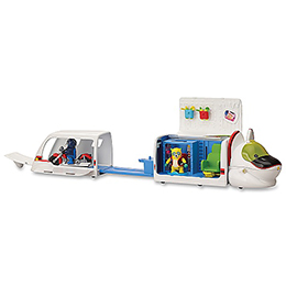Special Agent Oso R.R. Rapide Command Center Play Set
