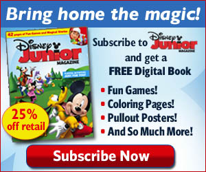 Bring home the magic with Disney Junior Magazine - Subscribe Now!