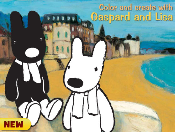 Color with Gaspard and Lisa