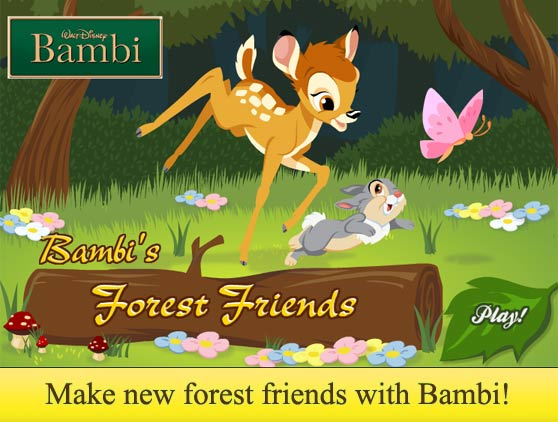Bambi's Forest Friends Game