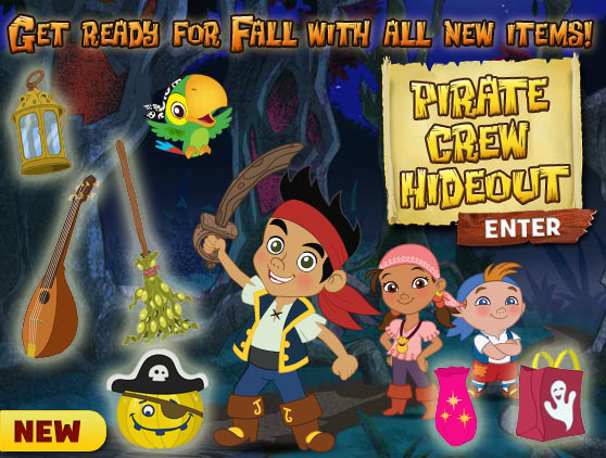 Pirate Crew Hideout For Fall