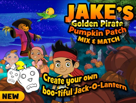 Jake's Golden Pumpkin Patch!