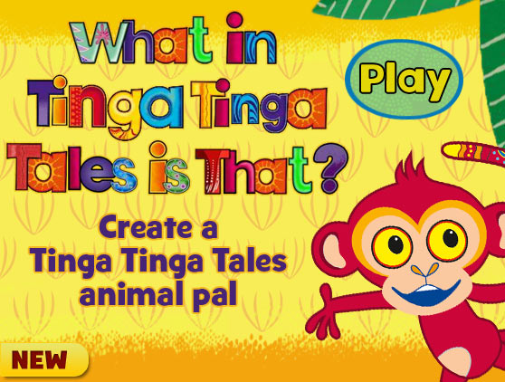 What in Tinga Tinga Tales is That?