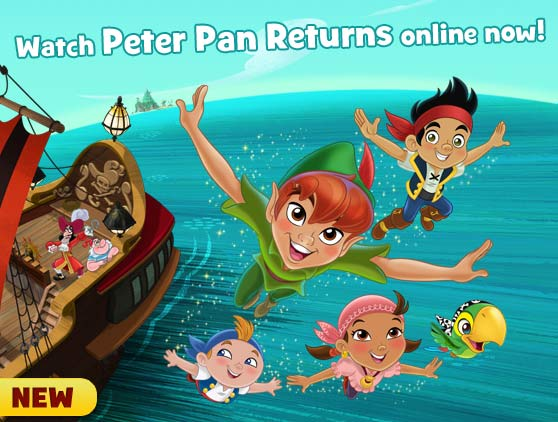 Watch Peter Pan Returns online now!