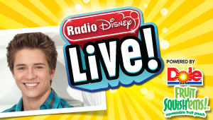 Denver welcomes Billy Unger from Disney XD's 'Lab Rats' to Radio Disney LIVE!  powered by New DOLE Fruit Squish'ems is coming near you!