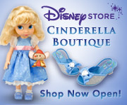 Disney Store - Cinderella Boutique Now Open