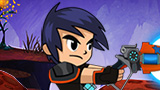 Shoot slugs in the Battle for Slugterra!