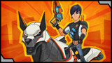 Ride with Eli and his Mechabeast across Slugterra!